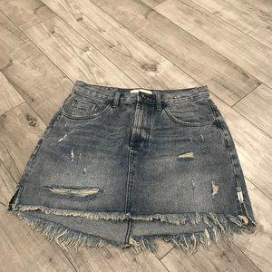 One by Oneteaspoon 2020 High Waist Mini Skirt